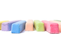 Colored Chalk Stock Photos