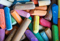 Colored chalk Royalty Free Stock Image