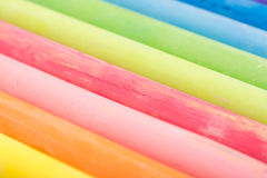 Colored Chalk Abstract Royalty Free Stock Image