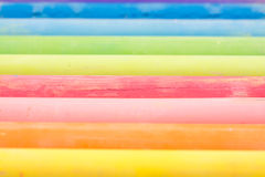 Colored Chalk Abstract Royalty Free Stock Images