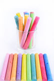 Colored chalk Royalty Free Stock Photography