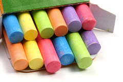 Colored chalks Royalty Free Stock Image