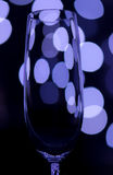 Colored champagne glass Royalty Free Stock Images