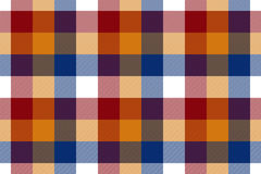 Colored check seamless fabric texture. Vector illustration. EPS10 Stock Photography