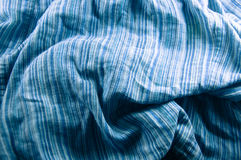 Colored checked blue halftones Royalty Free Stock Photo