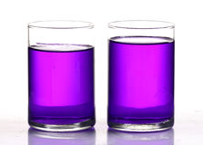 Colored chemical Stock Photography