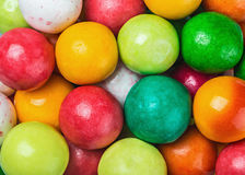 Colored chewing gum round Royalty Free Stock Images