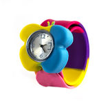Colored child's watch Stock Photos