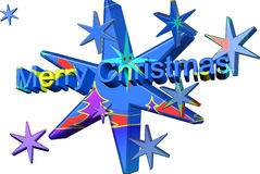 Colored Christmas. So we again come Christmas peace. Image, graphics Stock Photos