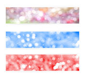 Colored Christmas backgrounds Royalty Free Stock Image