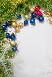 Colored Christmas balls Royalty Free Stock Image