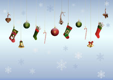 Colored christmas decoration Stock Photography