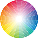 Colored circle Royalty Free Stock Photos