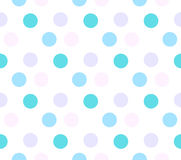 Colored circle seamless pattern. Background stock illustration