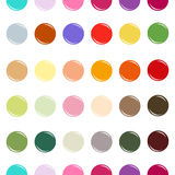 Colored circle seamless pattern Royalty Free Stock Photography