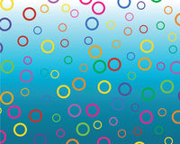 Colored circles Stock Photos