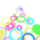 Colored circles Stock Images