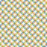 Colored circles background - endless Stock Images