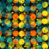 Colored circles. beautiful abstract geometric background. vector illustration Stock Image