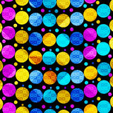 Colored circles. beautiful abstract geometric background. vector illustration Stock Photo