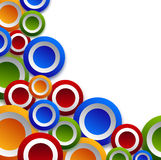 Colored circles Royalty Free Stock Photo