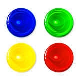 Colored circles Stock Photography