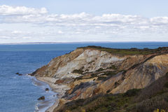 Colored Cliffs of Aquinnah Royalty Free Stock Image
