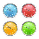 Colored Clocks Stock Photos