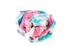Colored cloth ball Stock Images