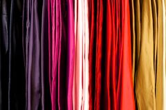 Colored Cloth Royalty Free Stock Photos