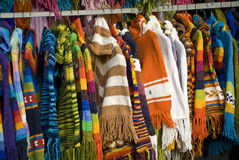 Colored clothes Royalty Free Stock Images