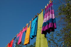 Colored Clothes Royalty Free Stock Image