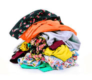 Colored clothing Royalty Free Stock Photography