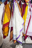 Colored cloths Royalty Free Stock Images