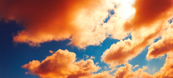 Colored Clouds Stock Photos