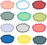 Colored clouds Royalty Free Stock Photography