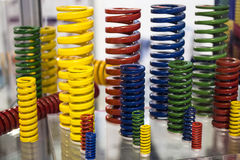 Colored coils Royalty Free Stock Image