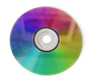 Colored compact disc Stock Photo