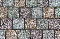 Colored concrete paving with beautiful high quality textures Royalty Free Stock Photography