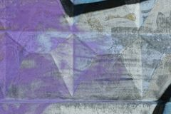Colored concrete texture of painted fence wall Royalty Free Stock Photo