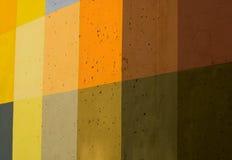Colored concrete wall Stock Photo