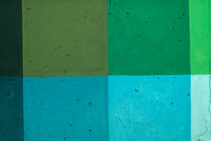 Colored concrete wall. Stock Photos