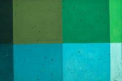 Colored concrete wall. Stock Photos