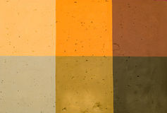 Colored concrete wall Royalty Free Stock Photo