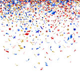 Colored confetti Stock Image