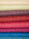 Colored cotton Stock Photo