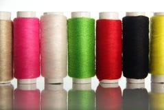 Colored cotton Stock Photos