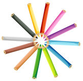 Colored Crayons Royalty Free Stock Images