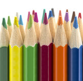 Colored crayons Stock Image