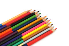 Colored Crayons - Color Pencils Royalty Free Stock Photography